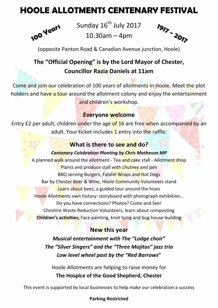 Hoole Centenary-Celebration